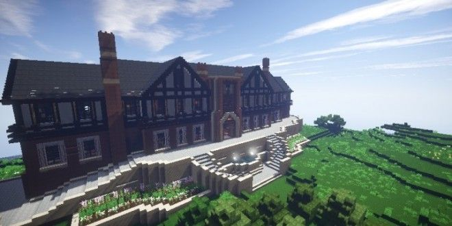 Tudor Mansion Minecraft Building Ideas Big Amazing House Home Download  Interior Part 82