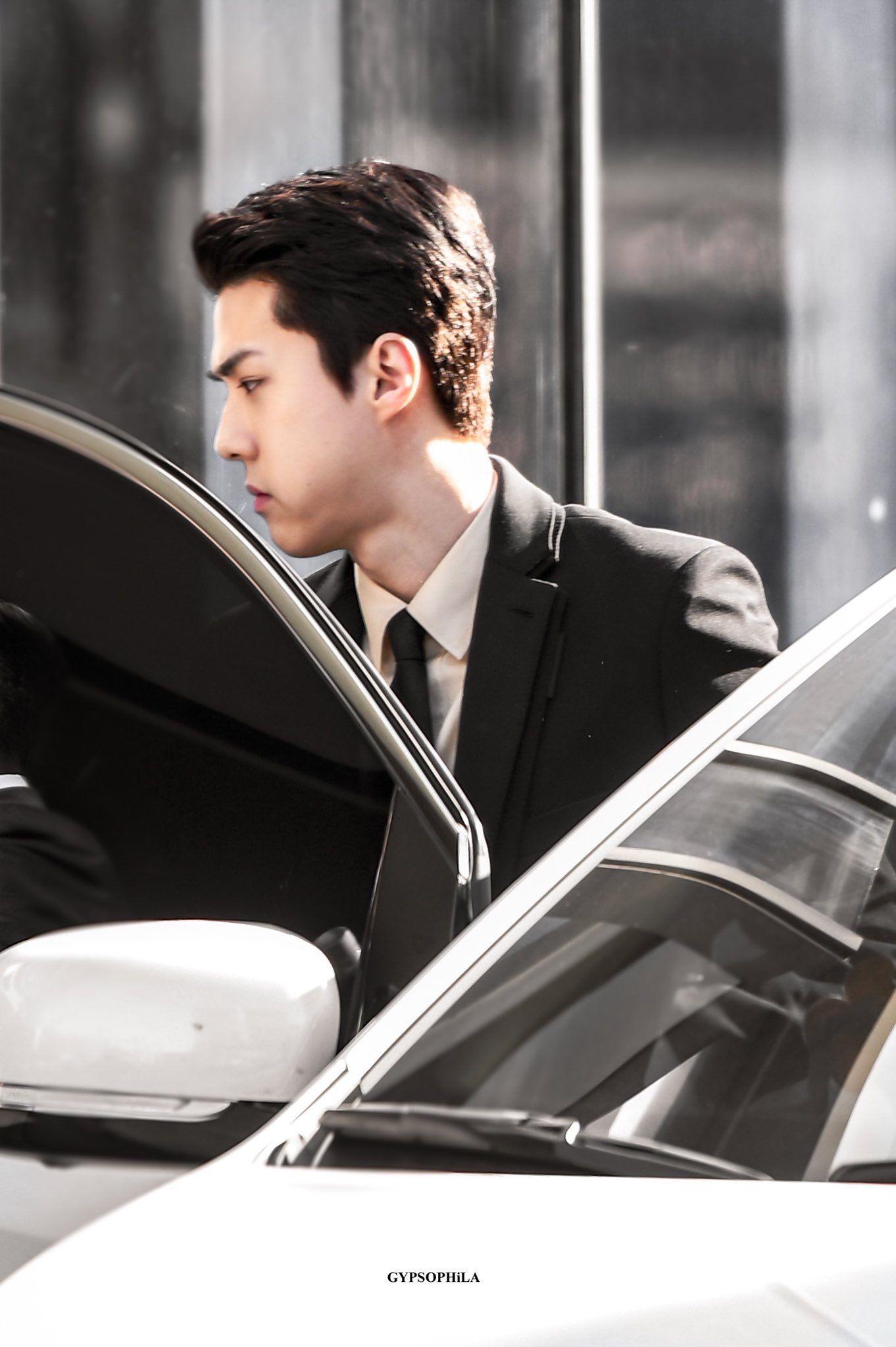 ปักพินโดย ️🐯LOEYOHSEHUN🐤 ️ ใน EXO ️ OH SEHUN ️