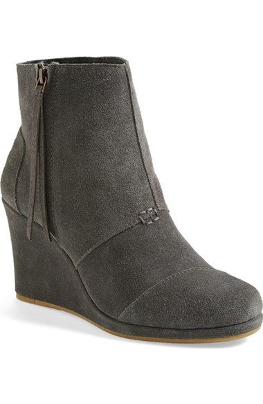 07684f7573c TOMS  Desert  Wedge High Bootie (Women) available at  Nordstrom