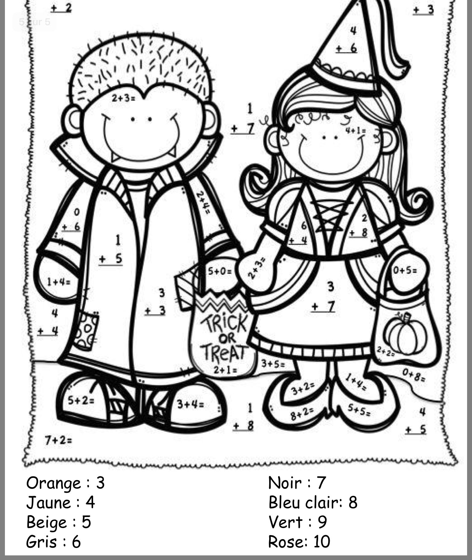 Pin By Veronica Cabrera On Halloween Worksheets