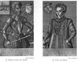 Black European Royals, William I Of Orange (1533 1584) And His Second