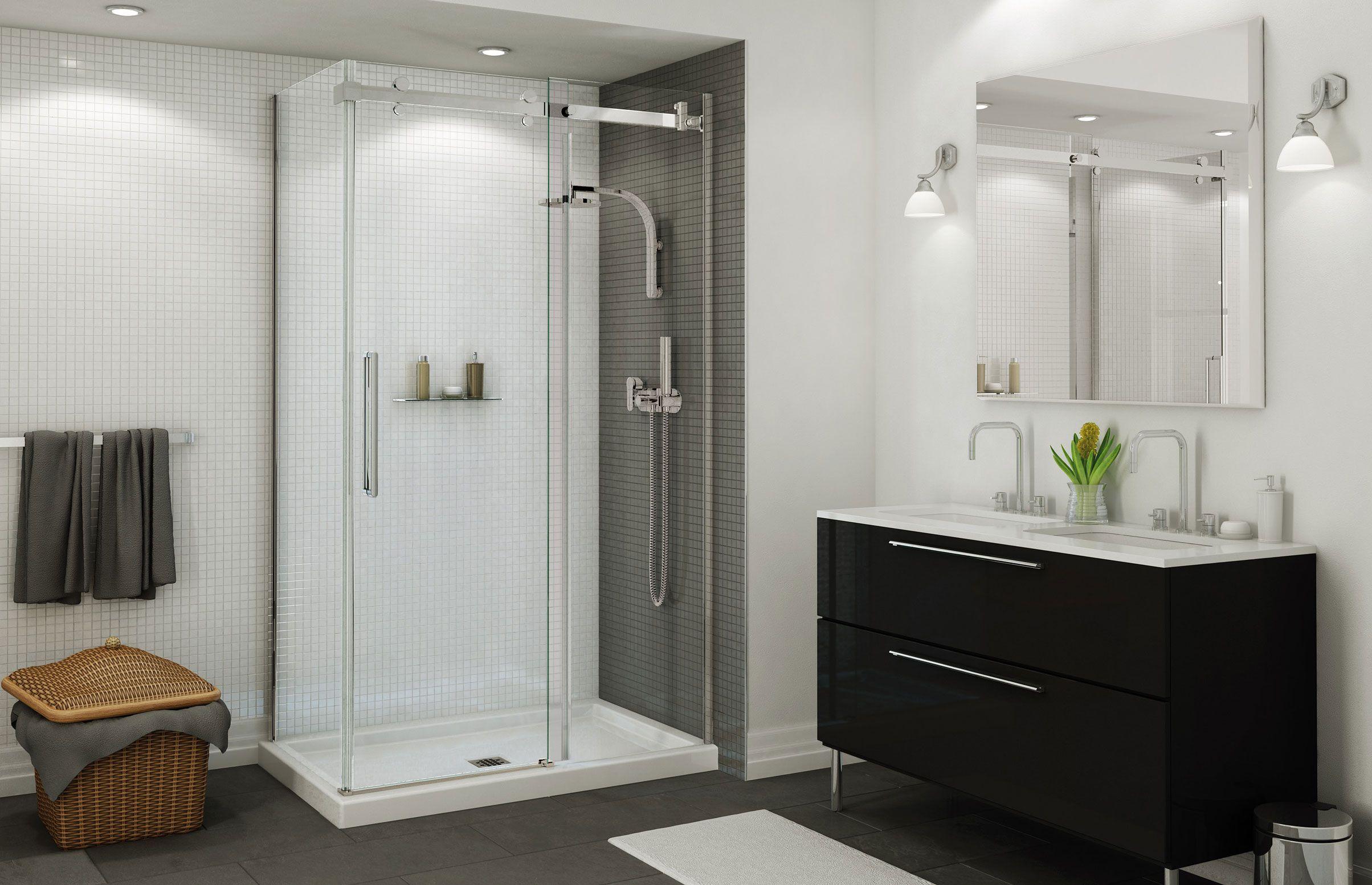 Maax Halo 48 Corner Shower Door Maax Maax Shower Doors
