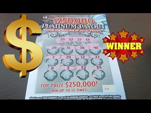 I WON $$$ on PLATINUM PAYOUT NC LOTTERY.
