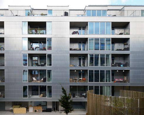 Dinelljohansson storstadshamn housing pinterest for Casa moderna zurigo