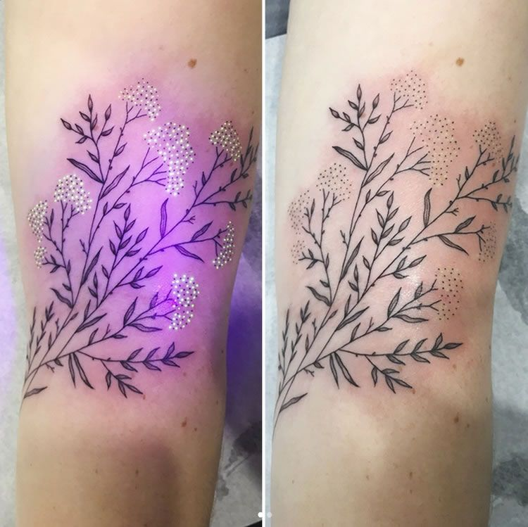 Pin by michelle green on tattos uv tattoo lavender