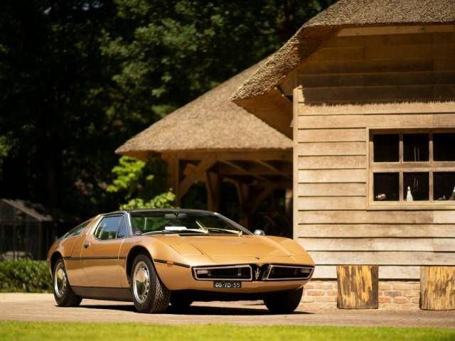 Truly one of the finer things in life: A Maserati Bora ...