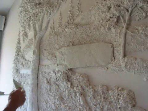 Tom Moberg Scultpure Process Video Plaster Art Plaster Wall Art Drywall Art