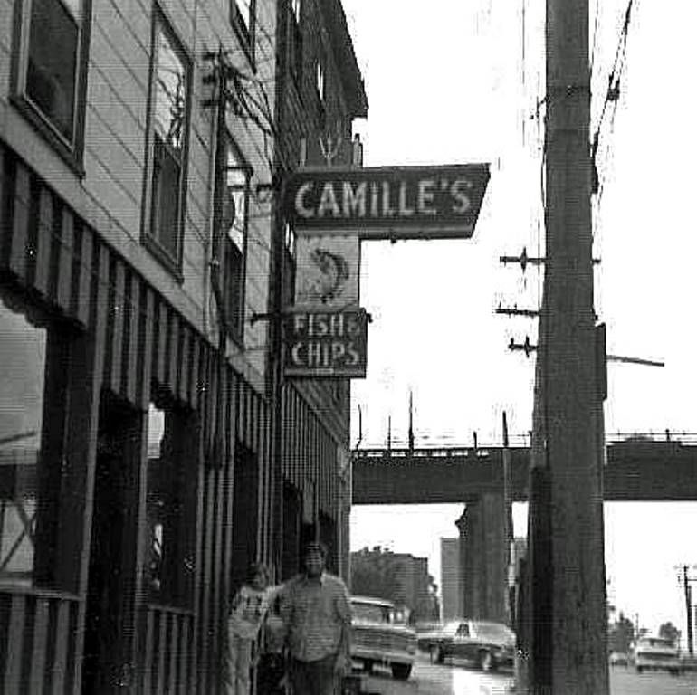 PLACE Camille's Fish & Chips, Halifax, circa 1970