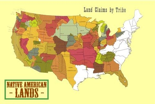 Animated Map Showing Loss of Western Tribal Lands since 1784 - animated maps