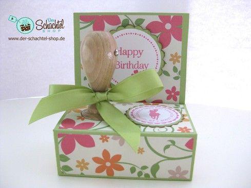 Verpackung für Adress Stempel Blog - Der Schachtel Shop