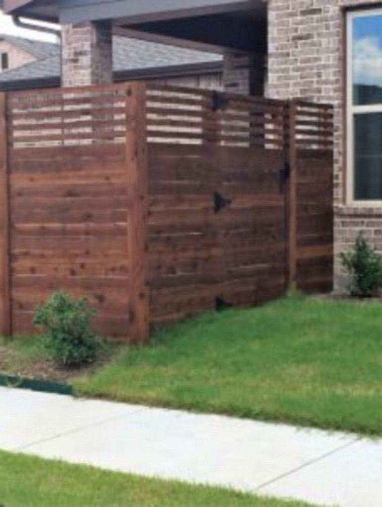 45 Easy And Inexpensive Privacy Fence Design Ideas Privacy Fence