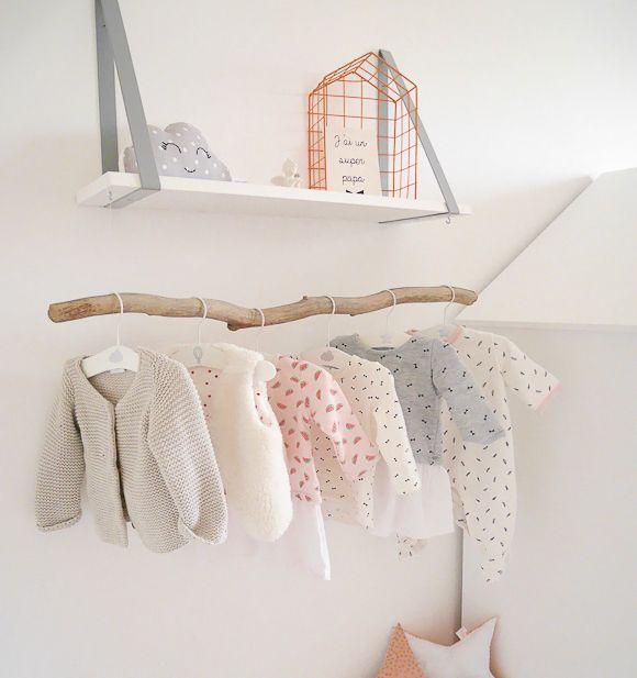 Penderie Pour Bébé la chambre bébé de léa | pretty kids room | pinterest | chambre bébé