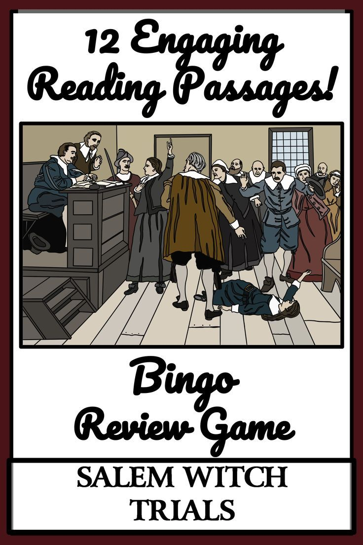 31+ Salem witch trials game for students ideas