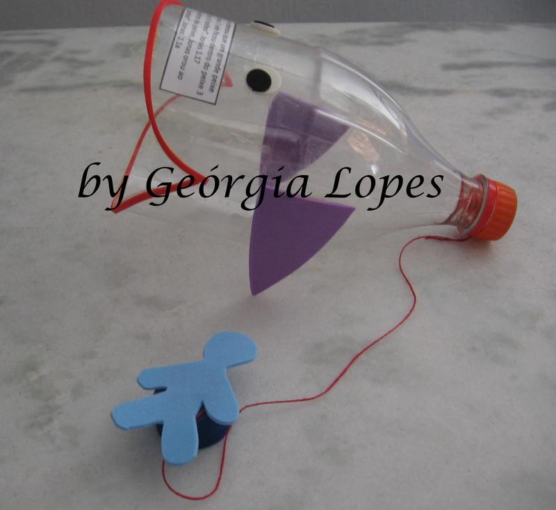 """Este bilboquê será usado como lembrancinha do Culto Infantil, com a mensagem de """"Jonas, na barriga do grande peixe"""" Com este brinquedo, ince..."""
