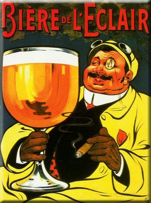 Pub retro alcool BIERE DE L'ECLAIR