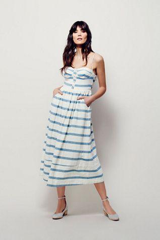 Mara Hoffman Womens Bustier Dress