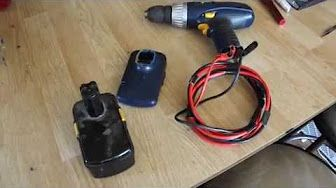 Modifying A Dewalt 18v Battery To Work With Dc Power Supply No More Batteries Youtube Cordless Power Tools Solar Panel Cost Power