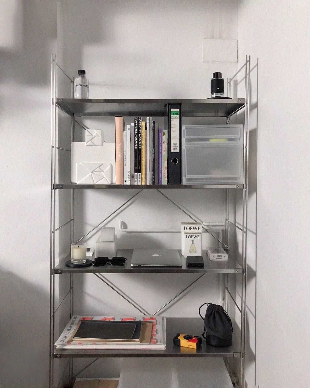 Joan Pala On Instagram Stainless Steel Shelf Via Muji Spain