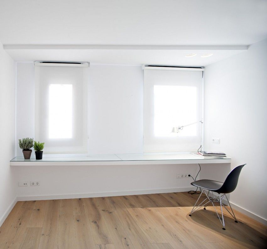 wall mounted office. 21 Best Wall Mounted Desk Designs For Small Homes - ThefischerHouse Office