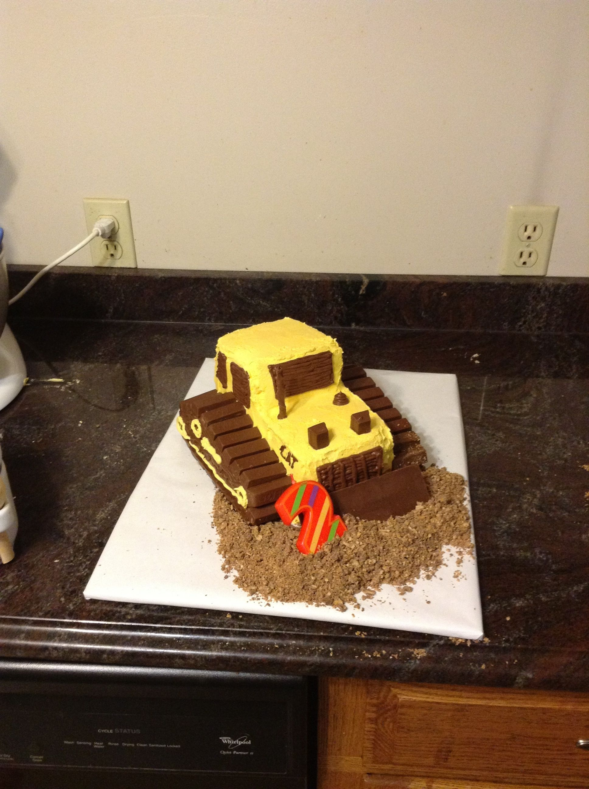 Birthday cake for Jackson
