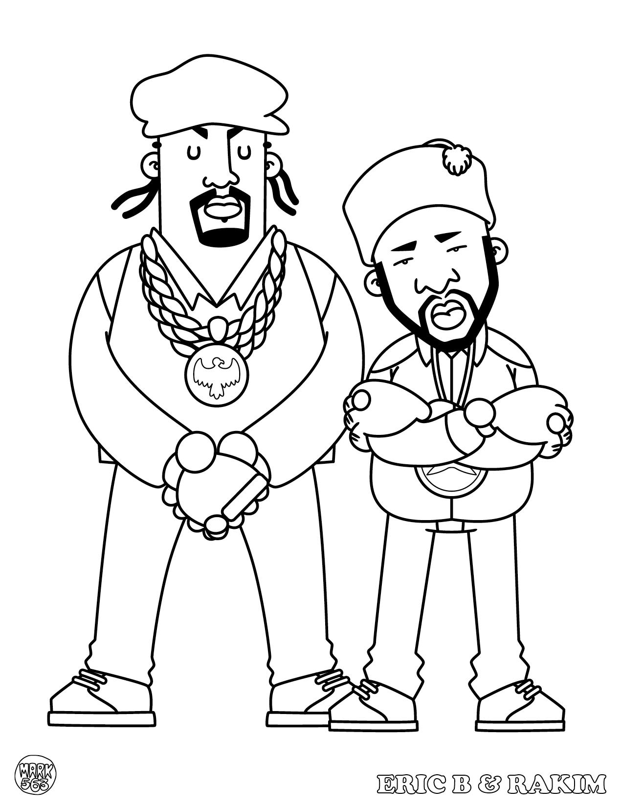 Famoso Libro De Colorear De Hip Hop Foto - Dibujos Para Colorear En ...