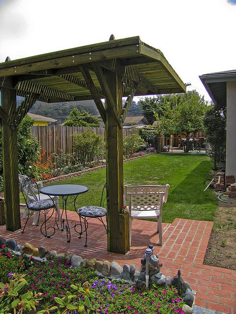 Yard Projects Img1203 Outdoor Gardens Backyard Outdoor Rooms