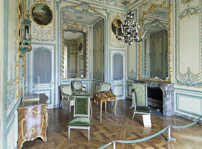 Apartment Of The Dauphin Decoration Salon Ancien Boiseries Chateau