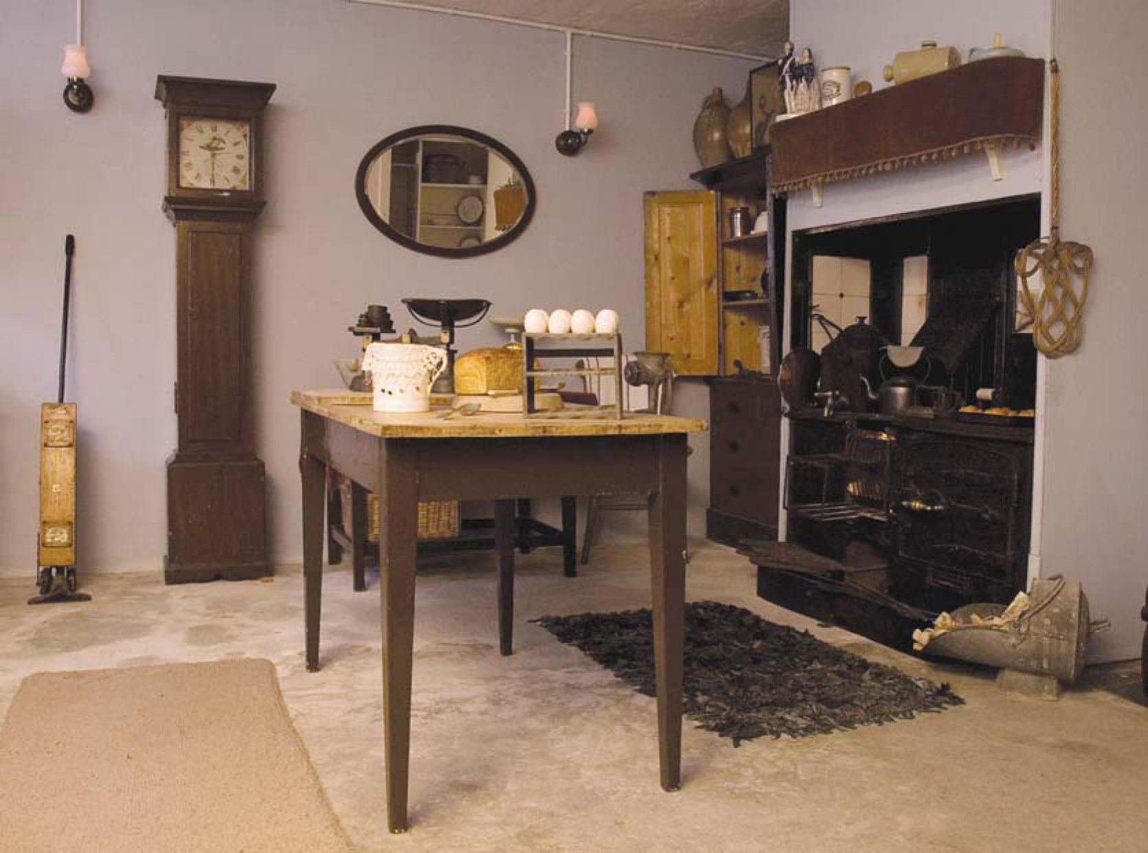 Victorian Kitchen London Vintage Farmhouse