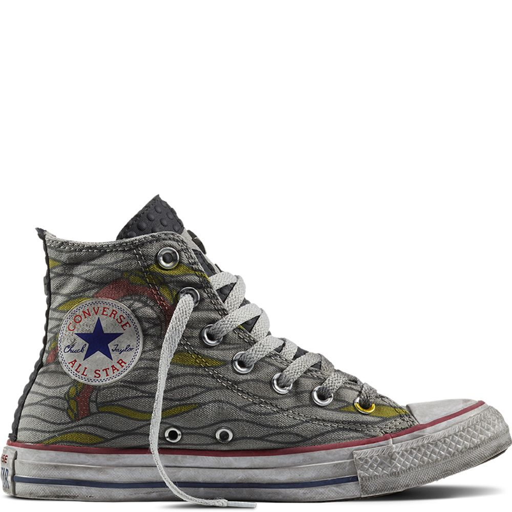 7176563e532654 Chuck Taylor All Star Smoke Tattoo Gris Multicolore gray multi ...
