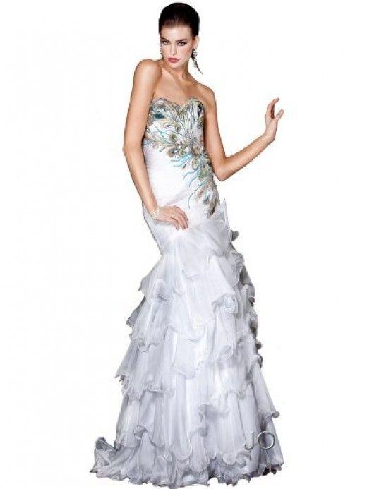 Top 5 Beautiful Peacock Inspired Dresses
