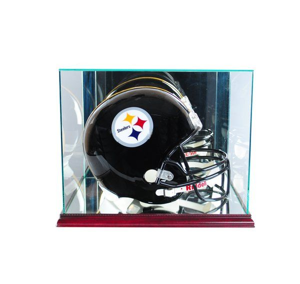 Rectangle Football Helmet Glass Display Case Football Helmets Baseball Display Case Glass Display Case