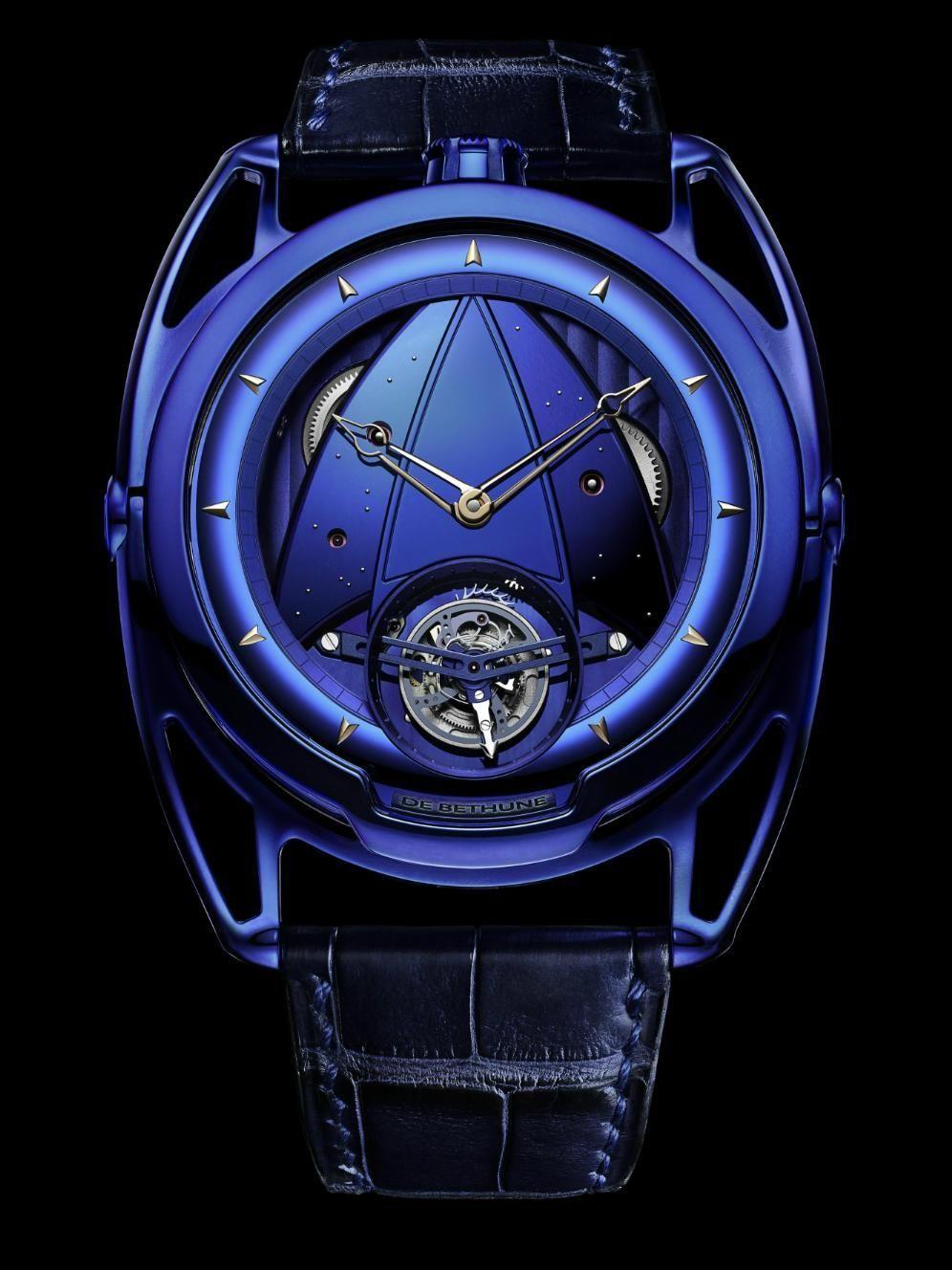 f1744b9d TimeZone : Industry News » Basel 2016 - De Bethune DB28 Kind of Blue ...