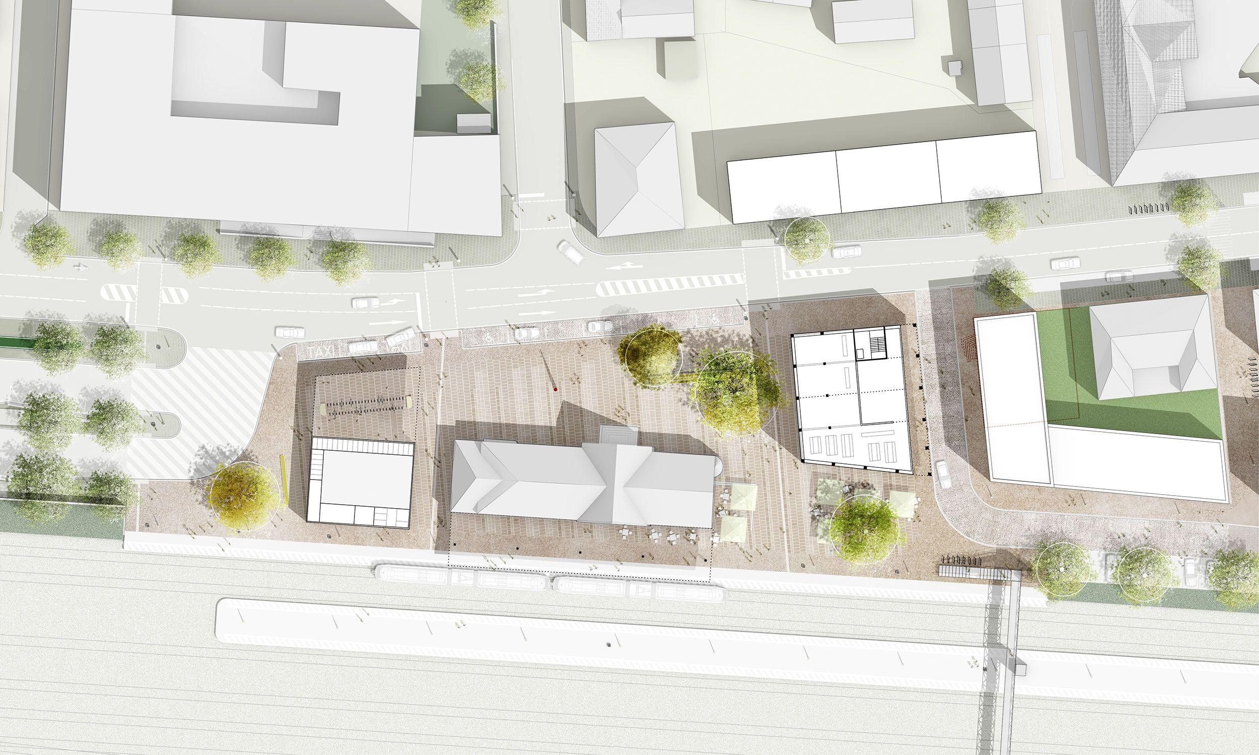 bahnhofsplatz wessendorf st grieger pl ne pinterest st dtebau architektur und planer. Black Bedroom Furniture Sets. Home Design Ideas