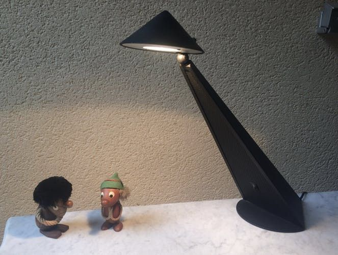 Lampe de bureau design UFO space age vintage 8090 original toucan