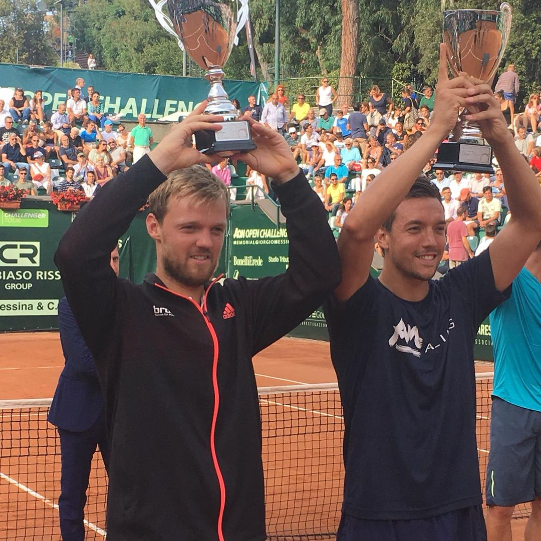 Biggest Challenger Title For Kevin Krawietz And Andreas Mies So Far Very Happy With The Win Here At The 127 000 H In Genova 2018 In Italy Hering