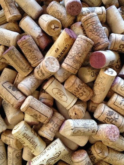 Recycled Wine Corks - great for all sorts of crafts.