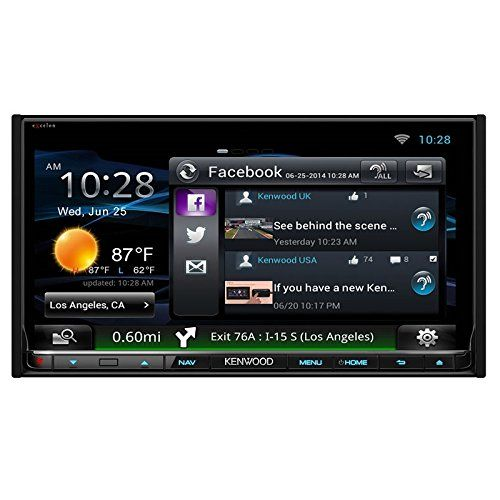 Kenwood DNN990HD Connected Navigation System With Built-in