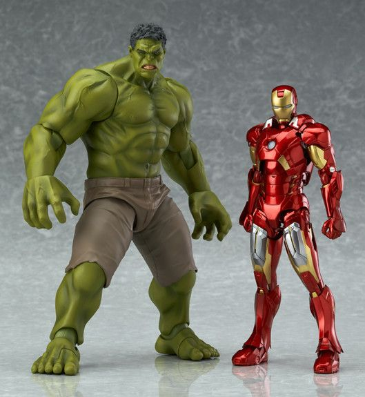 Avengers Figma Hulk Size Scale Comparison 8 Inch | Action Figures ...