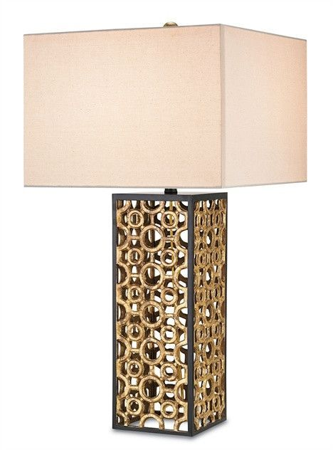 Currey and company cusco table lamp 6703