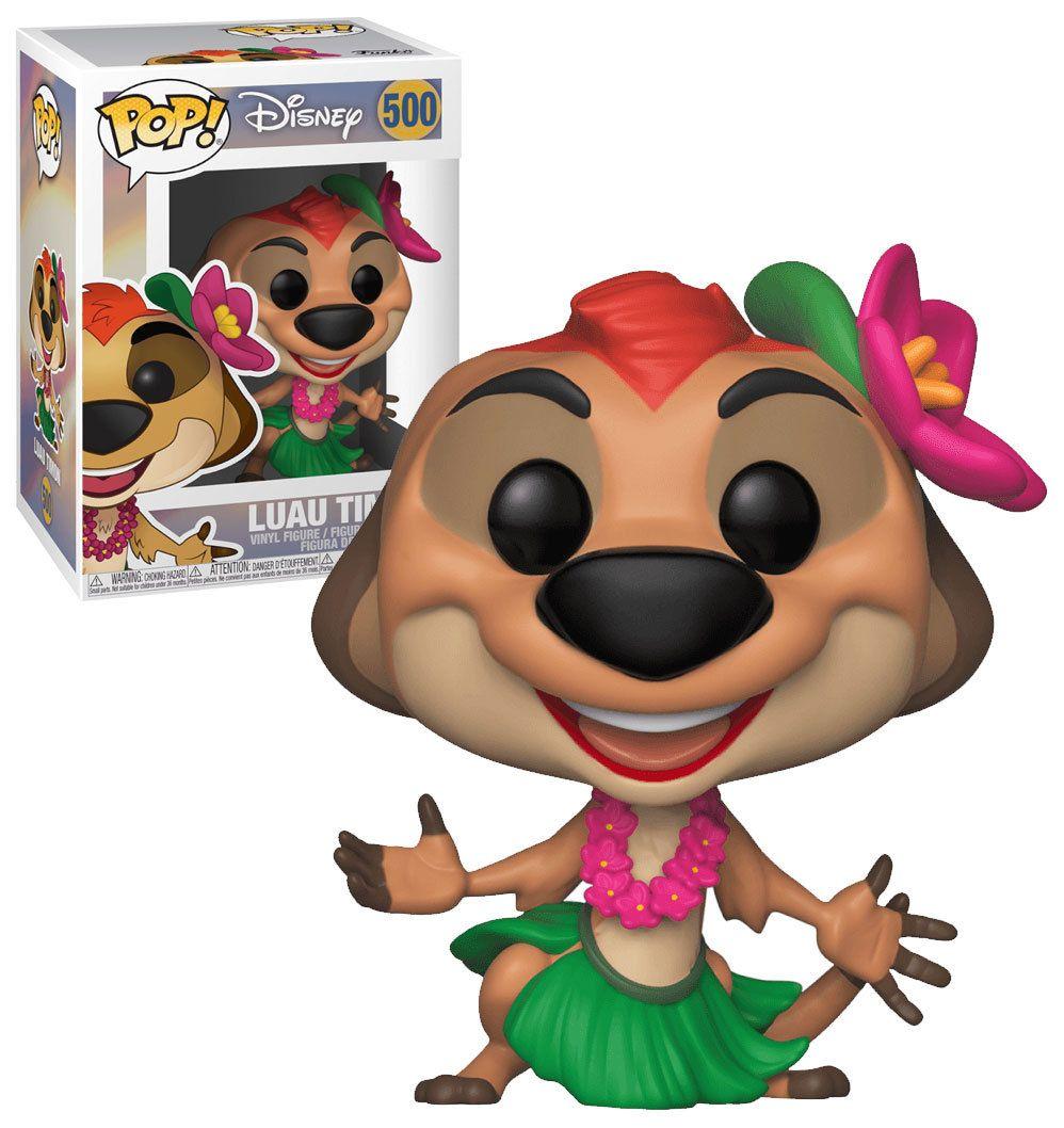 Funko Lion King Pop Disney Luau Timon Collectable Figure #500