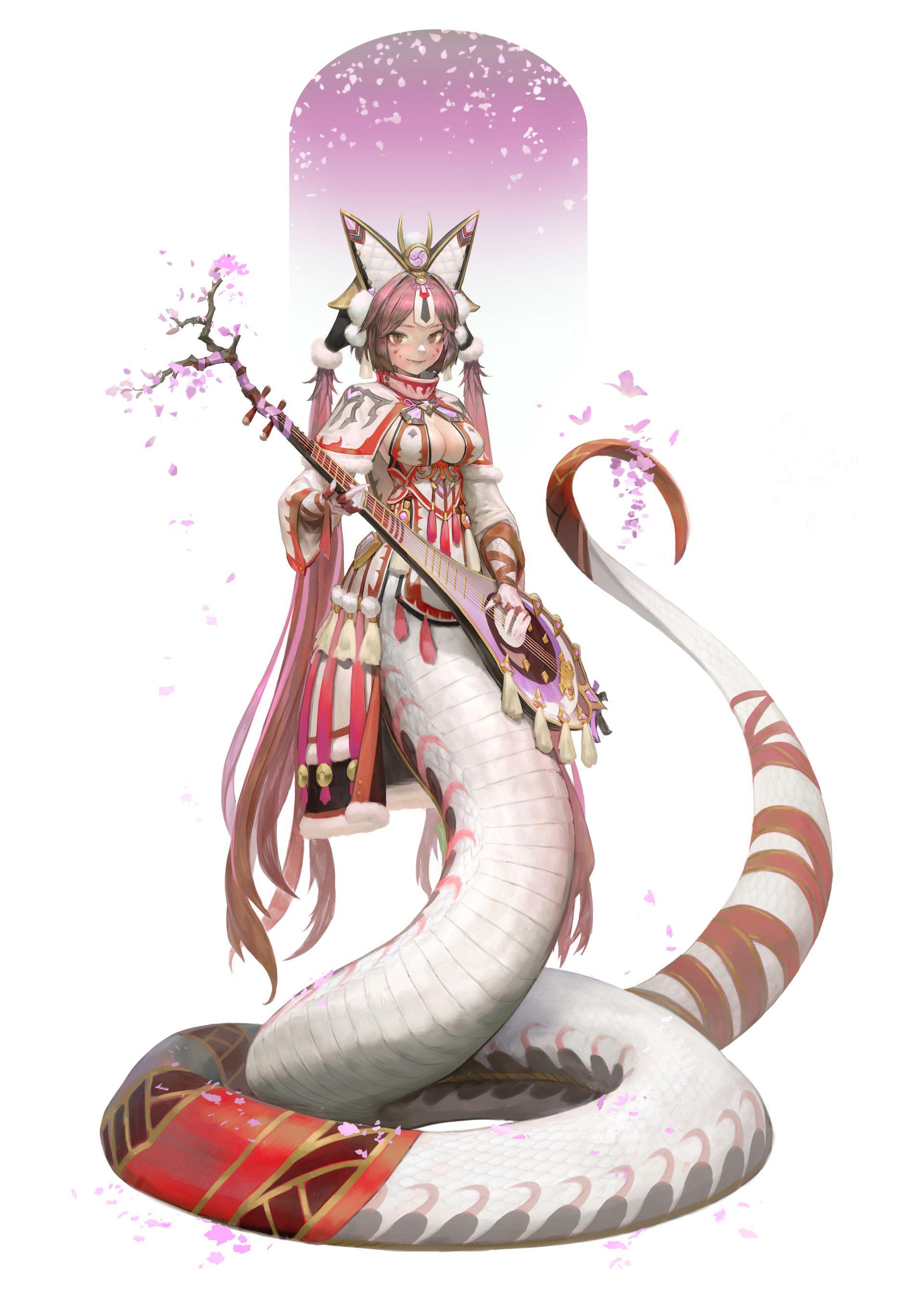 Snake Girl Lamia Comic  Wwwfreee-Pornocom-5359