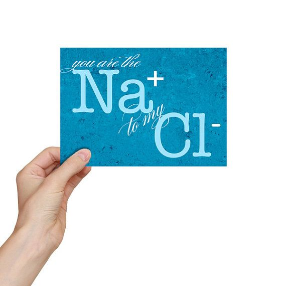 Nerdy Valentines Day Card Chemistry Valentine Funny Science – Funny Sayings for Valentines Cards