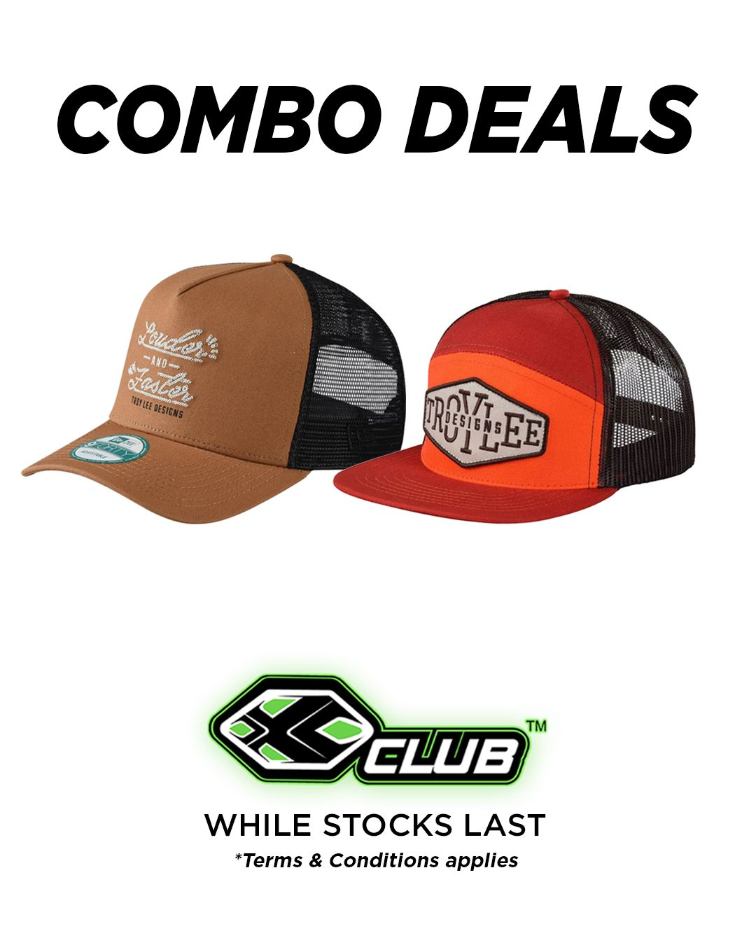 Combo Deals At Xclub Stores While Stocks Last Terms Conditions