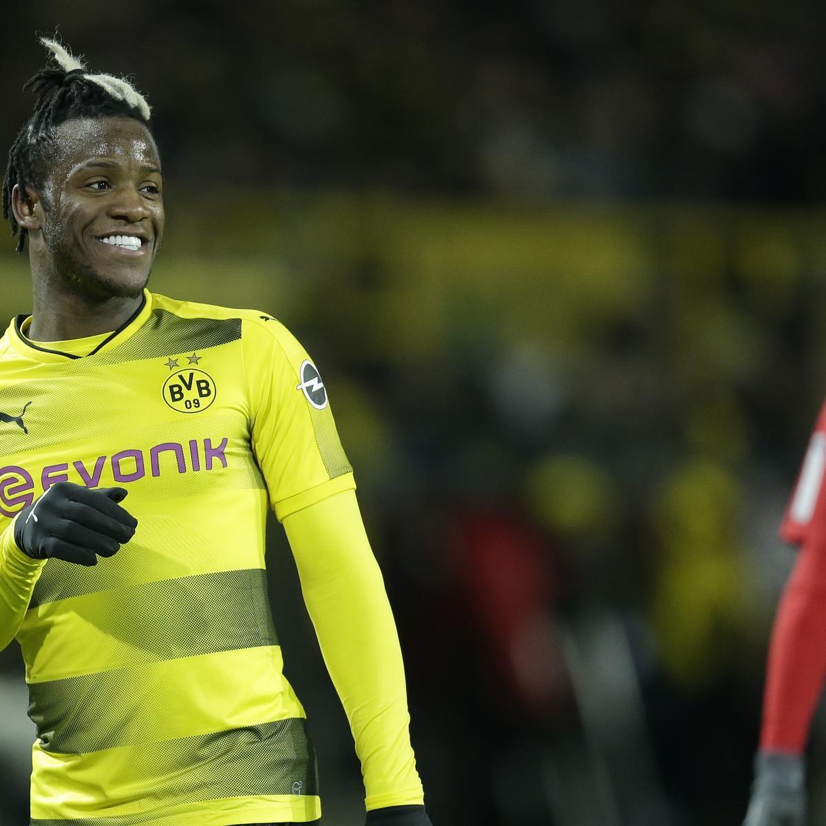 Chelsea Transfer News Michy Batshuayi Fee Rumoured As Dortmund Hunt Summer Deal Borussia Dortmund Dortmund Bvb