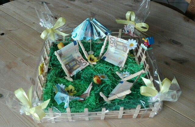 Geldgeschenk Gartenmobel Geschenke Geldgeschenke Geburtstag Basteln Geldgeschenke Selber Basteln