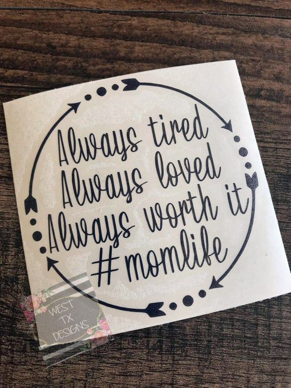 Mom Decal  Mom Decal for Car  Decal for Women  Gift for Mom | Etsy