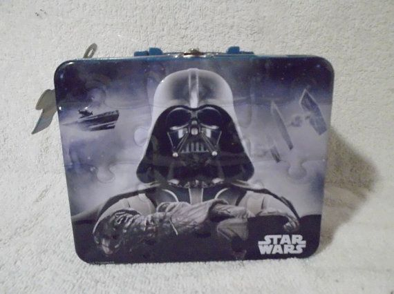 Star Wars Lunch Box with Puzzle by Gem2thei on Etsy