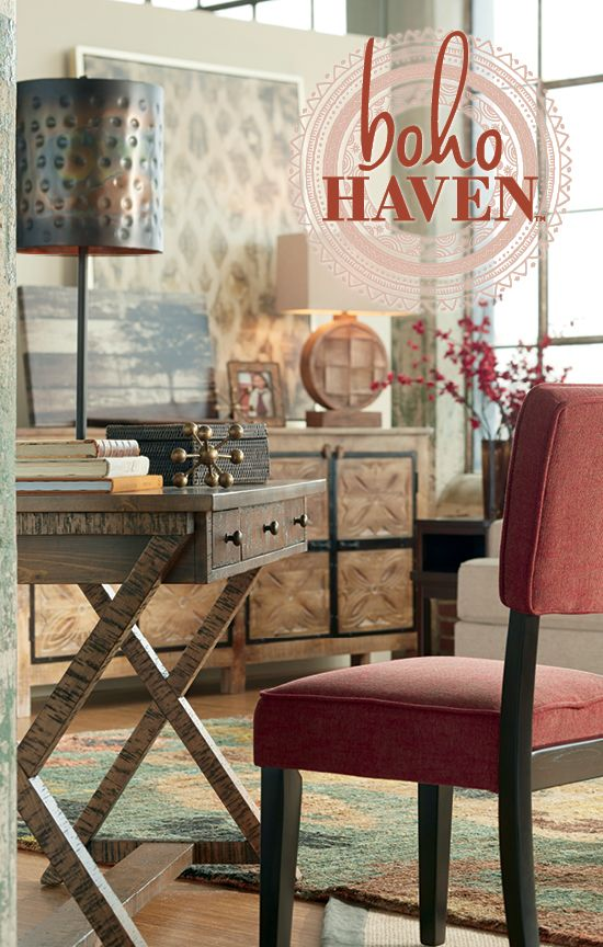 Elegant Boho Haven™   Relaxed Style   Home Furniture And Accessories   Ashley  Furniture · Eastman HouseHouse ...