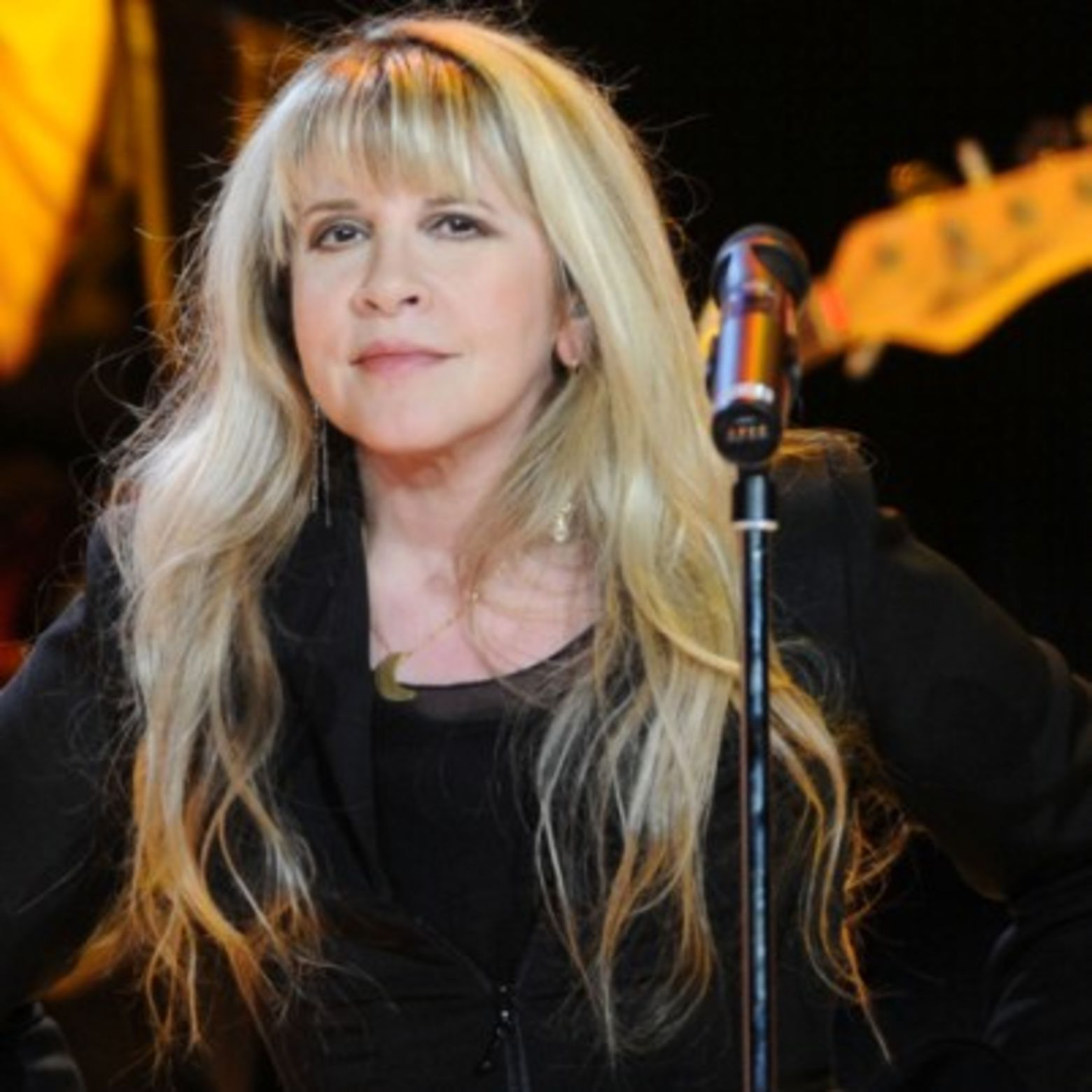 Singer and songwriter Stevie Nicks worked with Fleetwood Mac in addition to making several solo albums. Learn more at Biography.com.