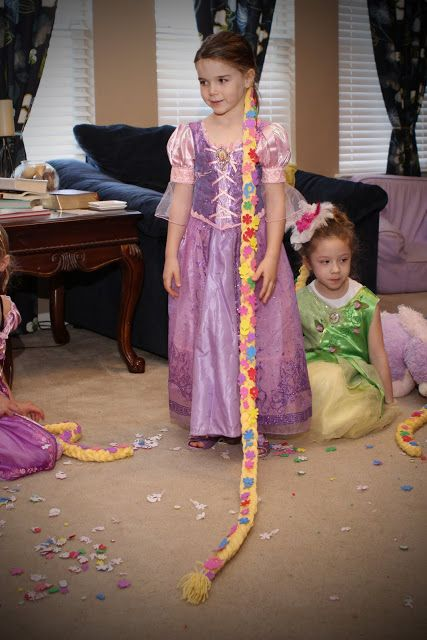 "Rapunzel birthday party | the paquettes  Love the game idea ""throw pascal into frying pan"""